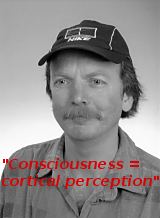 """Consciousness = cortical perception"" - Albert Jarsin"